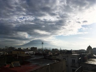 Naples, from Vesuvius...