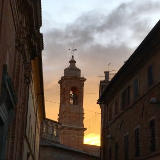 CdP scenes: a seasonal sunset and...